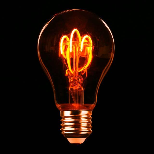 Lightbulb to illustrate bright ideas
